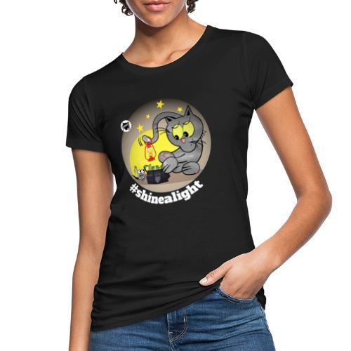 Astrokatze Skorpion - Frauen Bio-T-Shirt