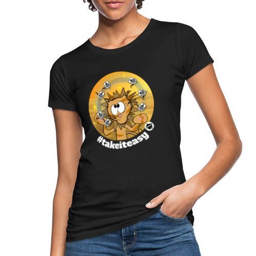 Astrokatze Löwe - Frauen Bio-T-Shirt