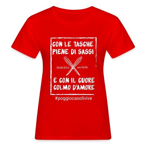 patch cuoresassi - T-shirt ecologica da donna