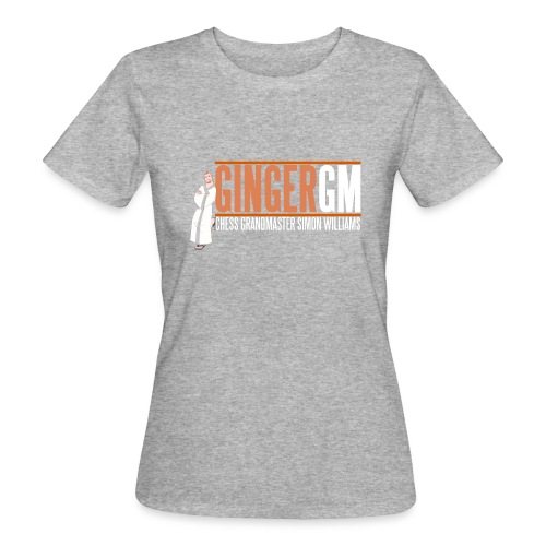Ginger GM White Logo - Women's Organic T-Shirt