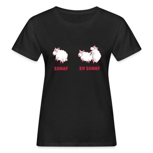 Zu Schaf_Position2 - Frauen Bio-T-Shirt