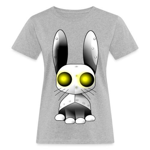 robotkanin med gula ögon - Women's Organic T-Shirt