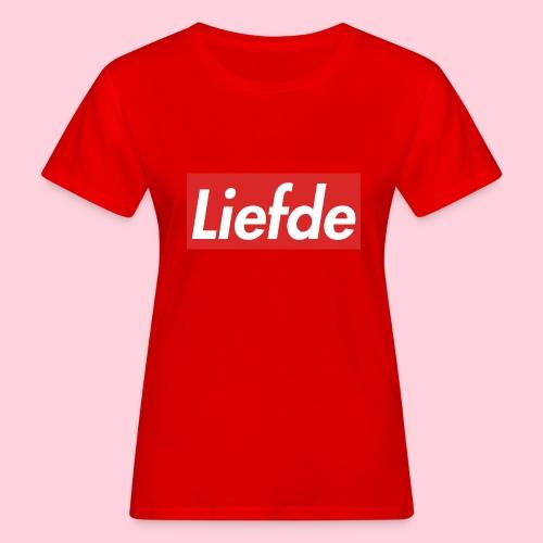 Liefde - Vrouwen Bio-T-shirt