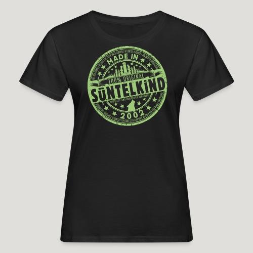 SÜNTELKIND 2002 - Das Süntel Shirt mit Süntelturm - Frauen Bio-T-Shirt