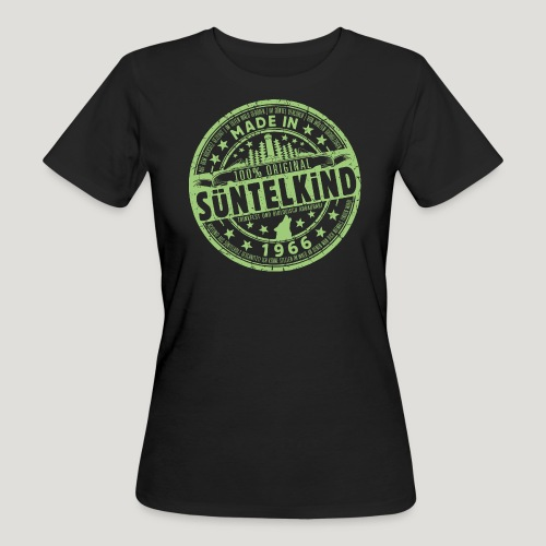 SÜNTELKIND 1966 - Das Süntel Shirt mit Süntelturm - Frauen Bio-T-Shirt