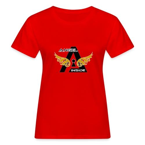 ANGEL INSIDE2-01 - T-shirt ecologica da donna