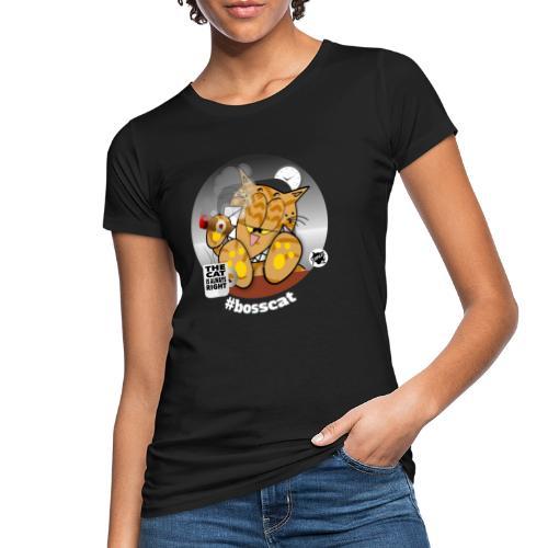 bosscat dunkel - Frauen Bio-T-Shirt