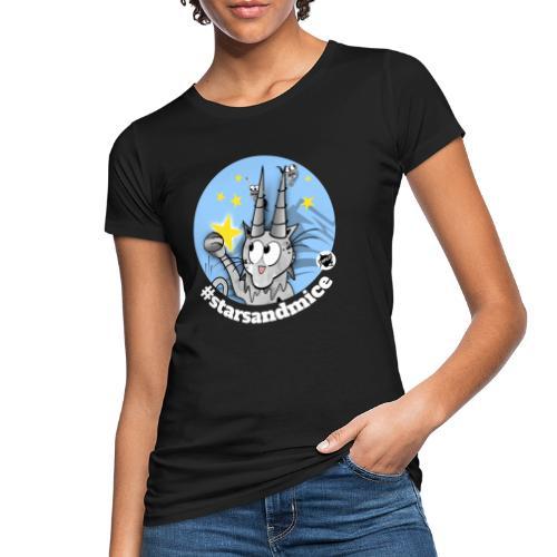 Astrokatze Steinbock - Frauen Bio-T-Shirt