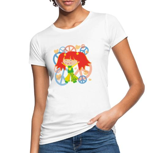 Happy Meitlis - Be Happy - Frauen Bio-T-Shirt
