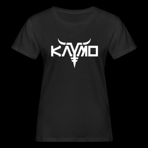 KayMo Logo - Økologisk T-skjorte for kvinner