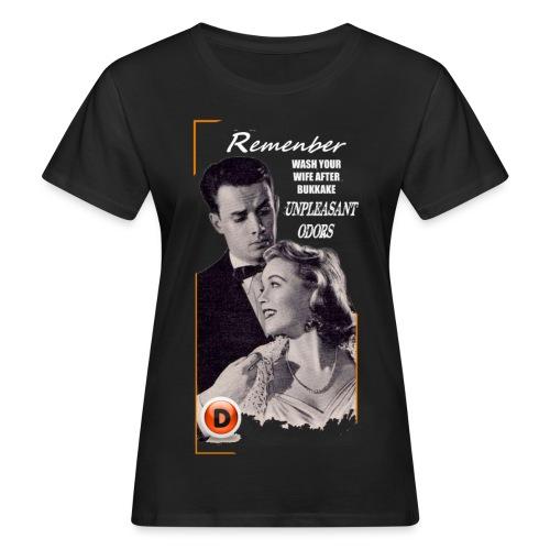 vintage advice - Women's Organic T-Shirt