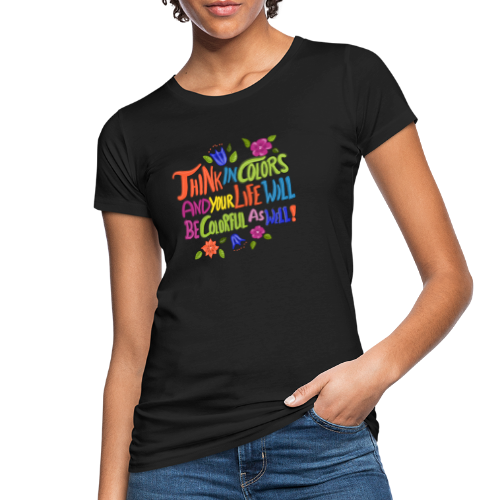 Think in Colors - Frauen Bio-T-Shirt