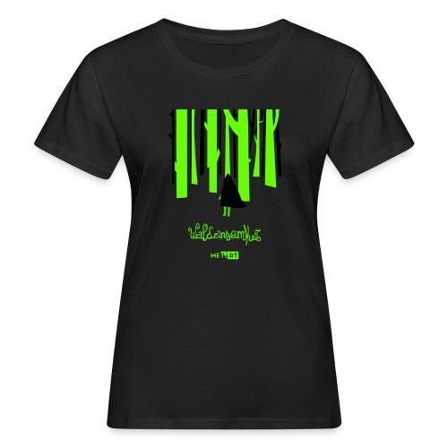 Waldeinsamkeit - T-shirt ecologica da donna