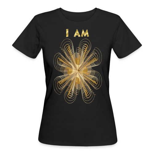 I AM - T-shirt ecologica da donna