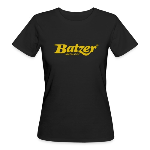 Batzer Logo GEEL - Vrouwen Bio-T-shirt