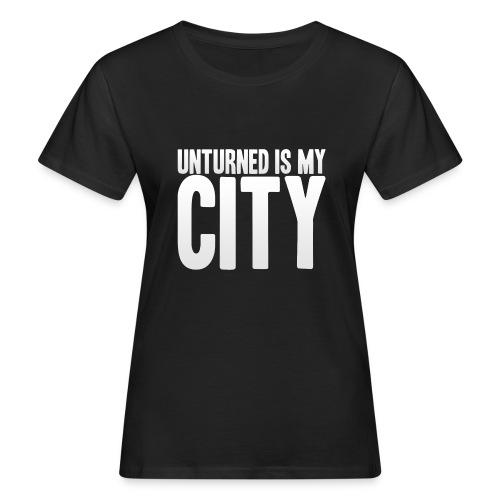 Unturned is my city - Women's Organic T-Shirt