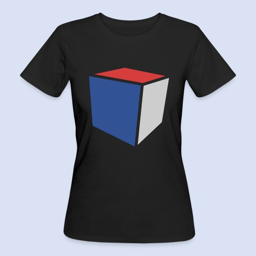 Cube Minimaliste - T-shirt bio Femme