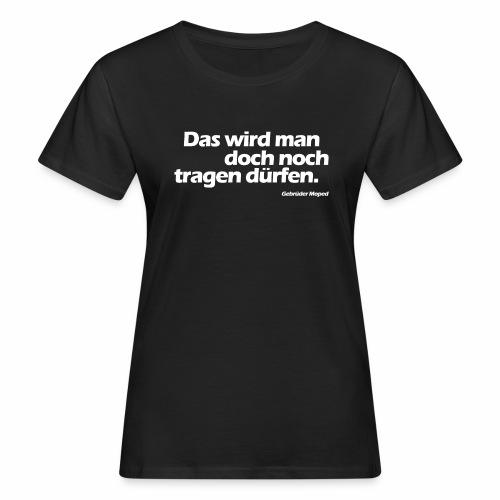 Kleidungsfreiheit - Frauen Bio-T-Shirt
