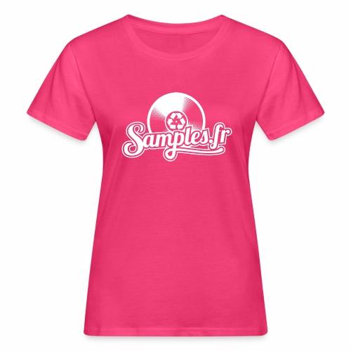 Samples.fr noir - T-shirt bio Femme