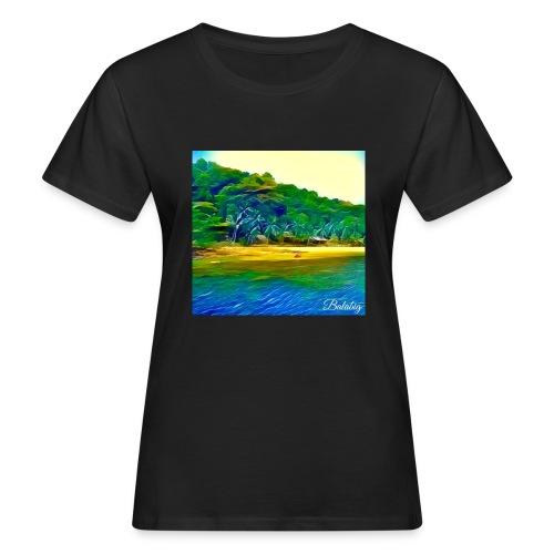 Tropical beach - T-shirt ecologica da donna
