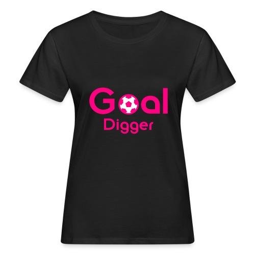 Goal Digger Pink - Women's Organic T-Shirt
