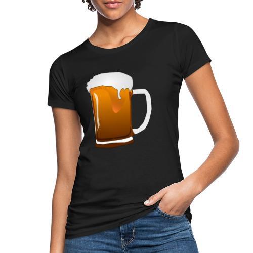 Cartoon Bier Geschenkidee Biermaß - Frauen Bio-T-Shirt