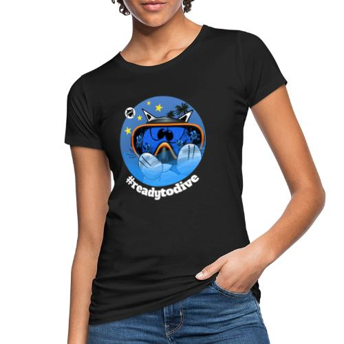 Astrokatze Fisch - Frauen Bio-T-Shirt