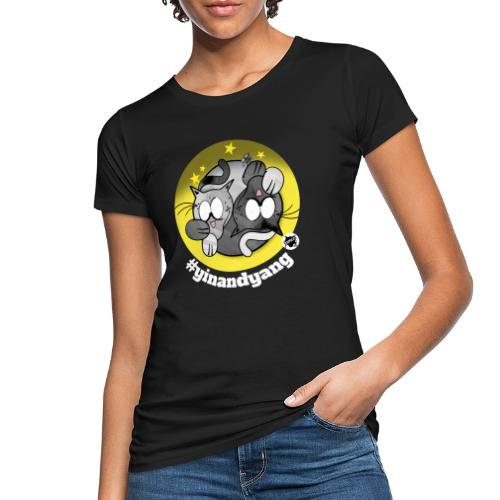 Astrokatze Zwillinge - Frauen Bio-T-Shirt