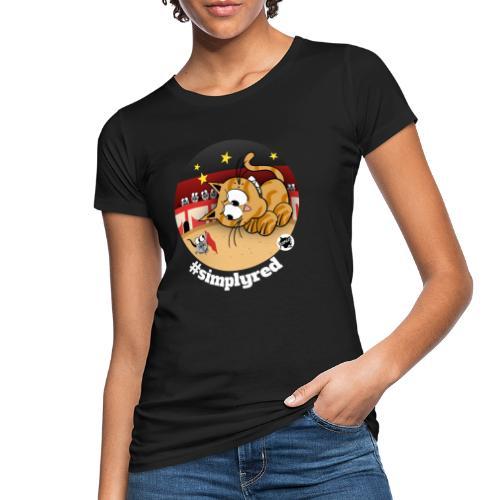 Astrokatze Stier - Frauen Bio-T-Shirt