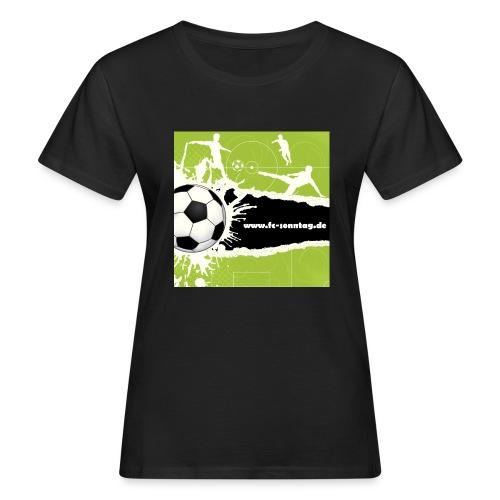 FC Sonntag Weblogo - Frauen Bio-T-Shirt