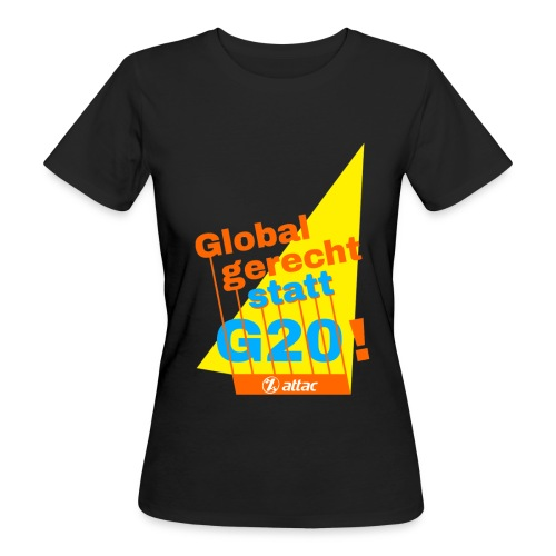 g20-shirts - Frauen Bio-T-Shirt