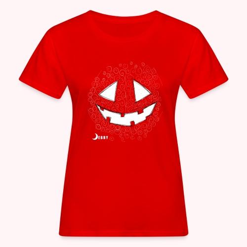 PUMPKIN FACE - 🍂FALL COLLECTION by DEBBY🍁 - T-shirt ecologica da donna