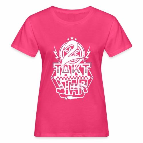 2-Takt-Star / Zweitakt-Star - Women's Organic T-Shirt