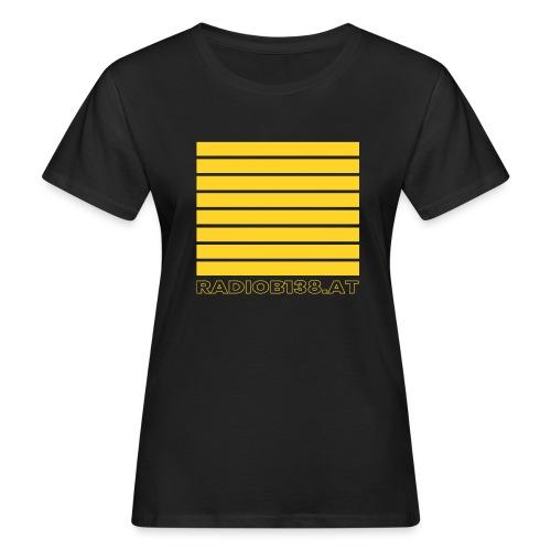 Radio Shirt mit Balken - Frauen Bio-T-Shirt