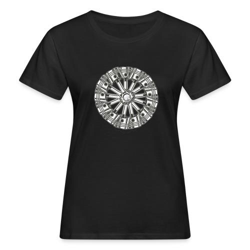 zuiger rol - Vrouwen Bio-T-shirt