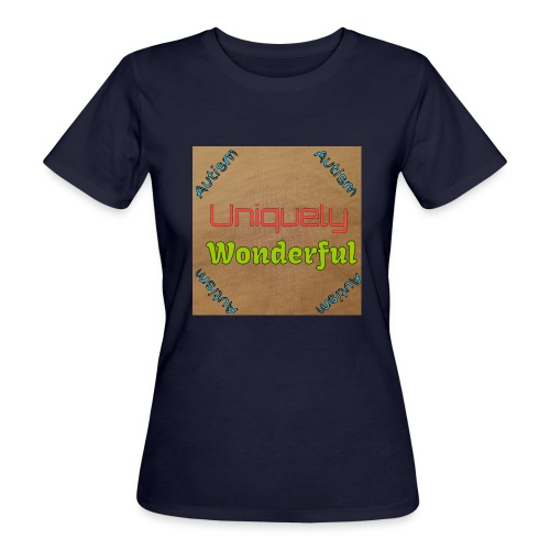 Autism statement - Women's Organic T-Shirt