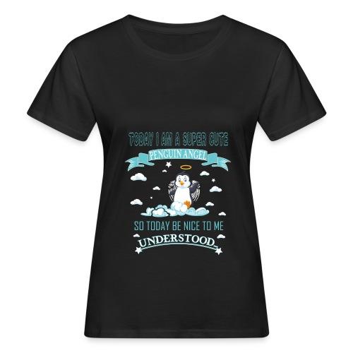 Pinguin Engel Weihnachten Antarktis Shirt Geschenk - Frauen Bio-T-Shirt