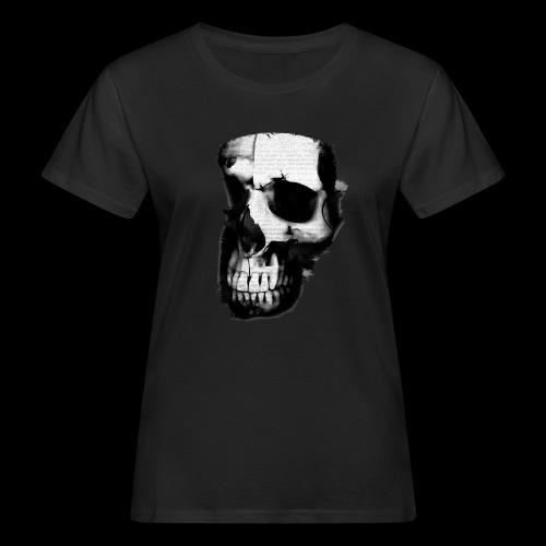 teschio darktrasp - T-shirt ecologica da donna