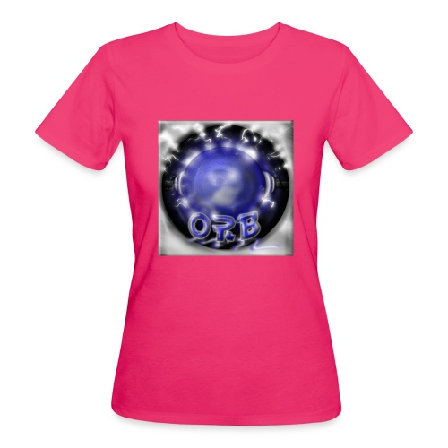 Hyperspace potato Blue Orb - Women's Organic T-Shirt