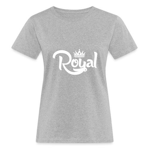 Royal Logo White Edition - Women's Organic T-Shirt
