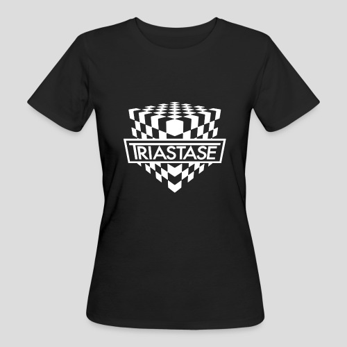 Triastase Logo White - Women's Organic T-Shirt