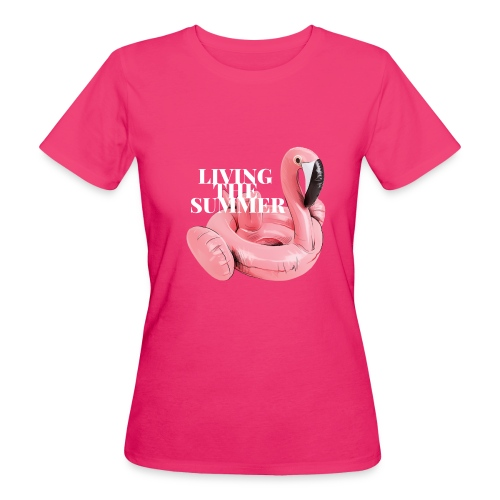 Living the Summer - Camiseta ecológica mujer