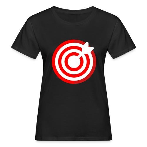 dartboard - Frauen Bio-T-Shirt