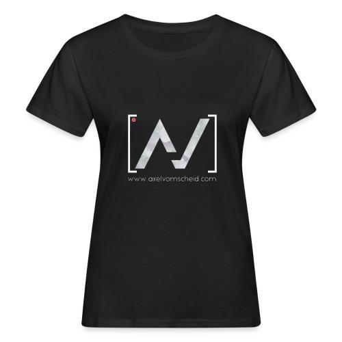 logoalpha blanc - T-shirt bio Femme