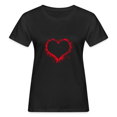 heart 2402086 - T-shirt ecologica da donna