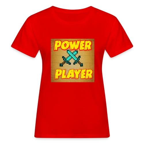 NUOVA LINEA POWER PLAYER - T-shirt ecologica da donna