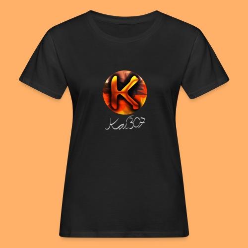 Kai_307 - Profilbild + Unterschrift Weiß - Frauen Bio-T-Shirt