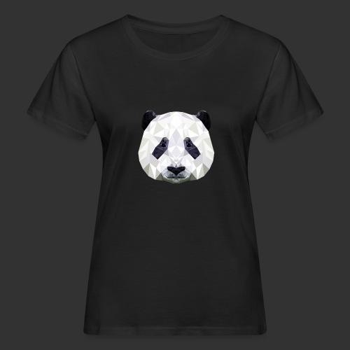 Panda Low Poly - T-shirt bio Femme
