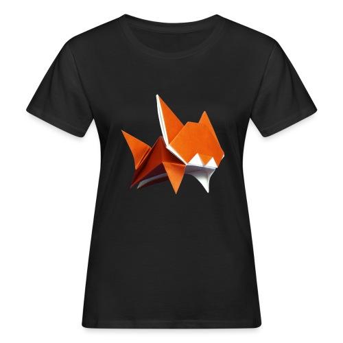 Jumping Cat Origami - Cat - Gato - Katze - Gatto - Women's Organic T-Shirt