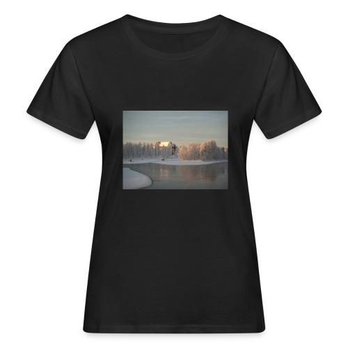 Talvinen Joensuu - Naisten luonnonmukainen t-paita